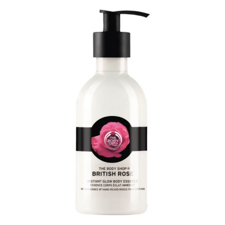 Body Shop British Rose Instant Glow Body Essence