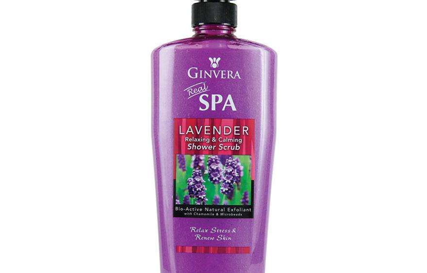 Ginvera Real Spa Lavender Shower Scrub