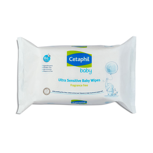 Cetaphil Baby Ultra Sensitive Baby Wipes