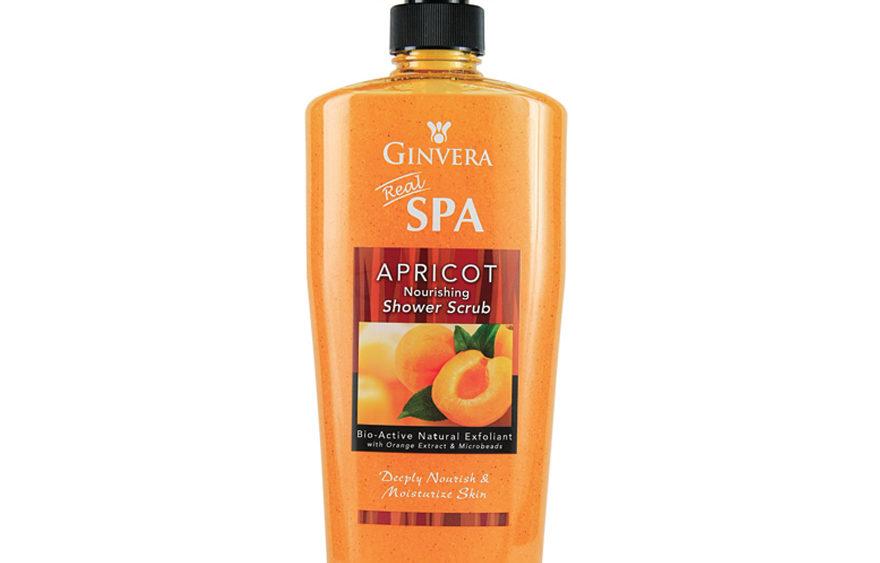 Ginvera Real Spa Apricot Nourishing Shower Scrub