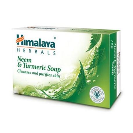 Himalaya Purifying Neem & Turmeric Soap