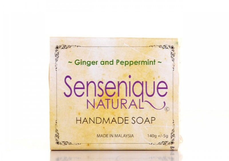 Sensenique Ginger and Peppermint Natural Handmade Soap