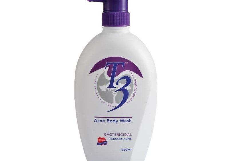 T3 Acne Body Wash pH 5.5