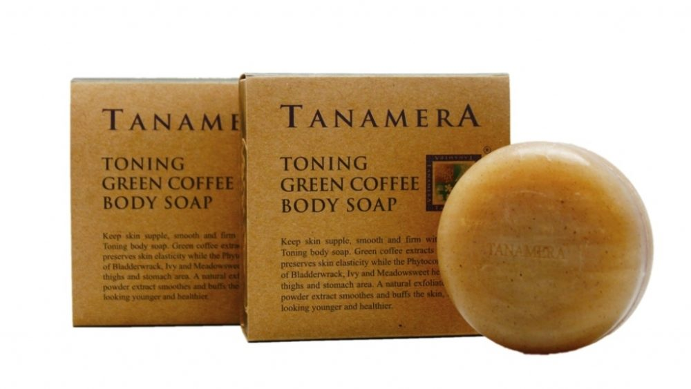 Tanamera Toning Green Coffee Body Soap