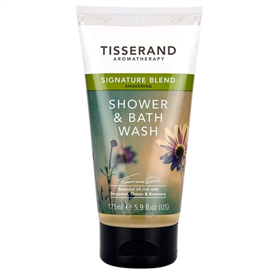 Tisserand Signature Blend Awakening Shower & Bath Wash