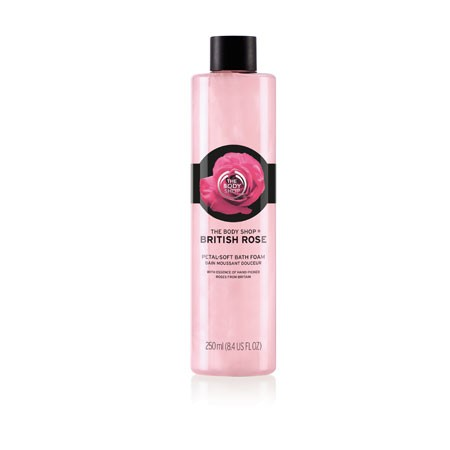 British Rose Petal Soft Bath Foam