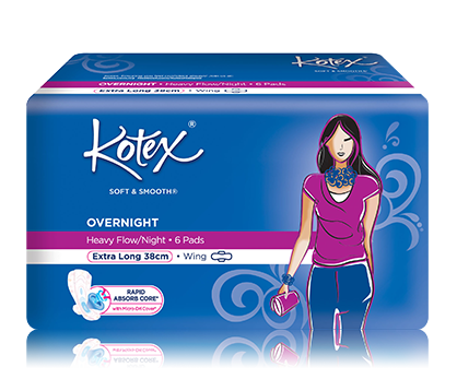 KOTEX Luxe Ultra Thin Regular Wings