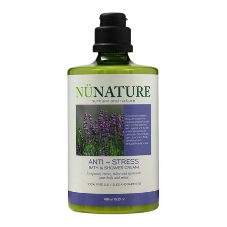 NUNATURE Anti-Stress Bath & Shower Cream