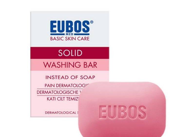 EUBOS Solid Washing Bar Red
