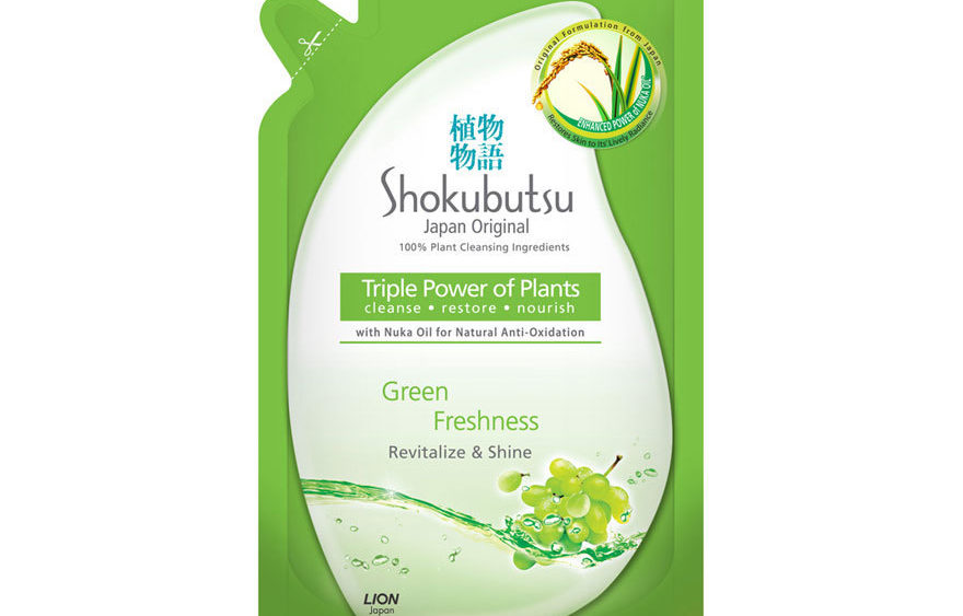 Shokubutsu Body Wash Green Freshness Refill