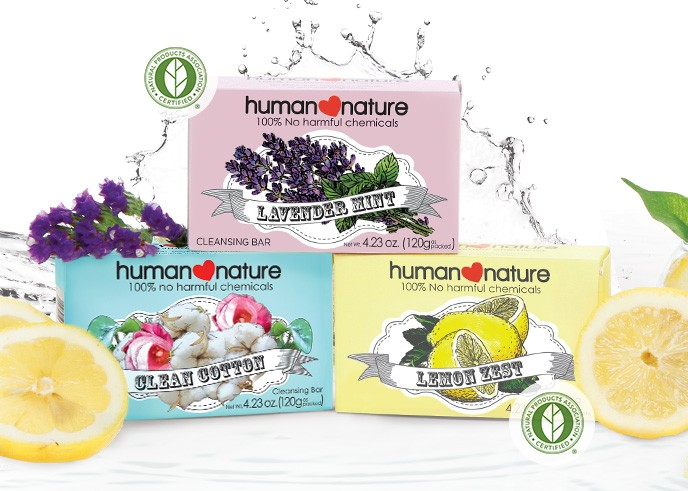 Human Nature Cleansing Bar