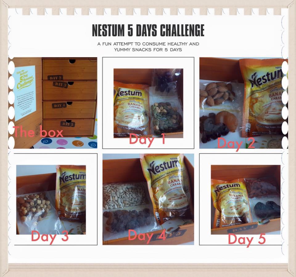 Nestum Banana Caramel 5-Day Challenge