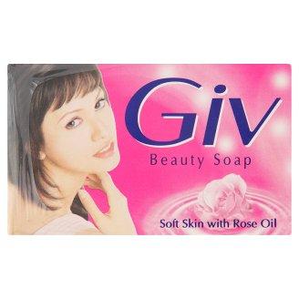 GIV Rose Oil Soft Skin Beauty Soap