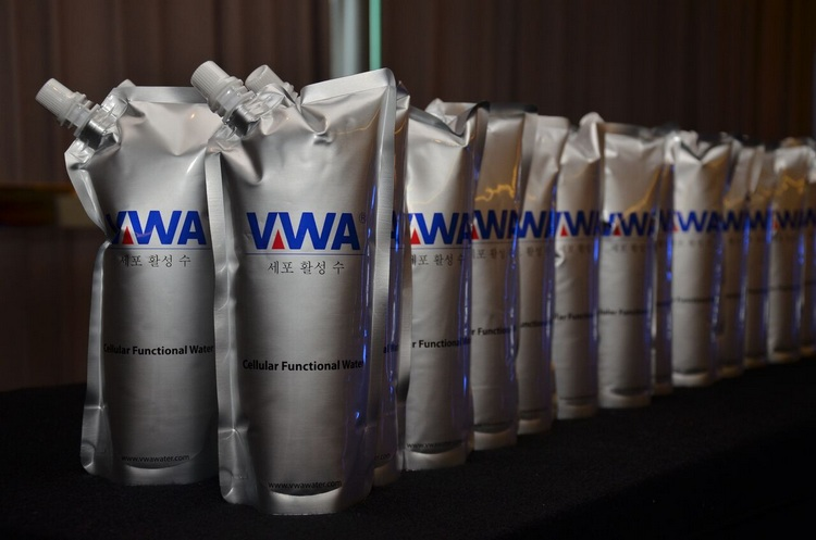 VWA Cheer Pack in a row - Cellular Functional Water