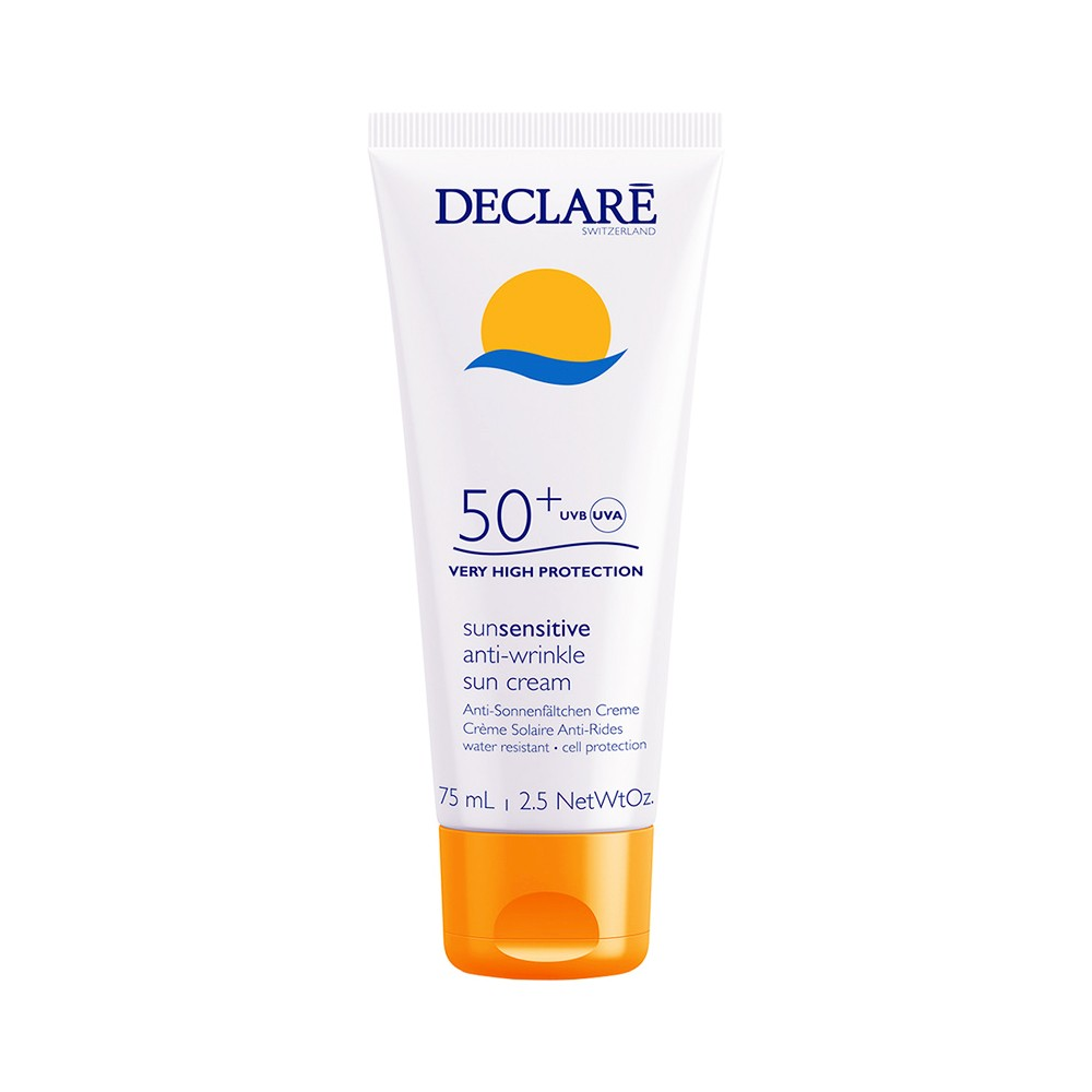 DECLARE Sun Sensitive Anti Wrinkle Sun Cream SPF50+