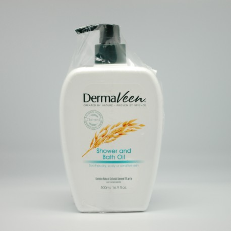 DermaVeen Shower & Bath Oil