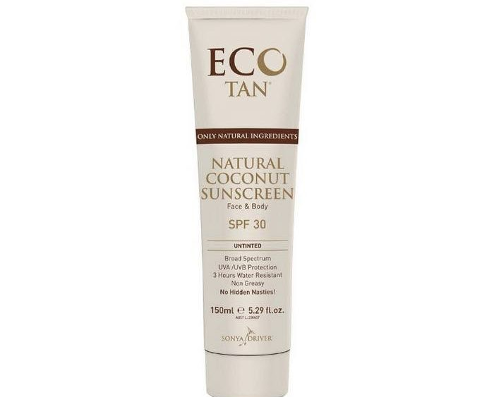 ECO TAN Natural Coconut Sunscreen SPF30