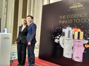 Swiss line Cell Shock Facial Essence Launch