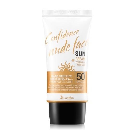 LadyKin Confidence Nude Face Sun Cream SPF50