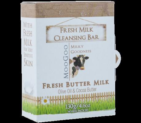 MOOGOO Fresh Buttermilk Cleansing Bar