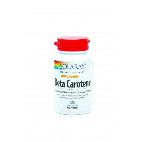 Solaray Food Carotene 10000 IU