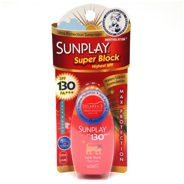 SUNPLAY SPF130 PA+++ Super Block Clear Finish Lotion