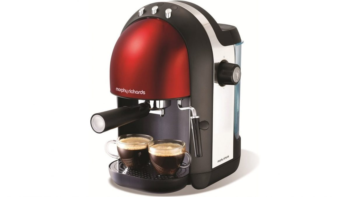 Morphy Richards Accents Espresso Coffee Machine Reviews