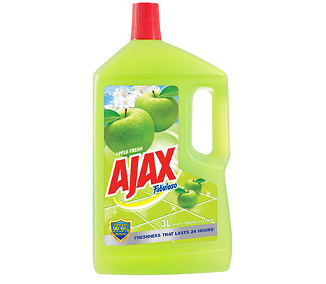 Ajax Fabuloso Antibacterial Apple Fresh All-Purpose Cleaner