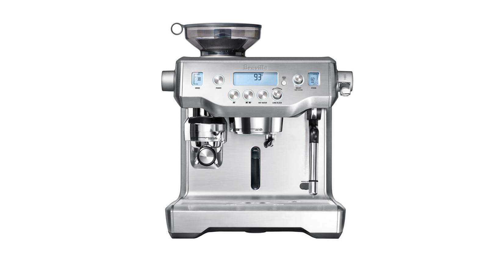 Breville Coffee Maker Parts Manual : Breville BES980 The Oracle Espresso Coffee Machine reviews