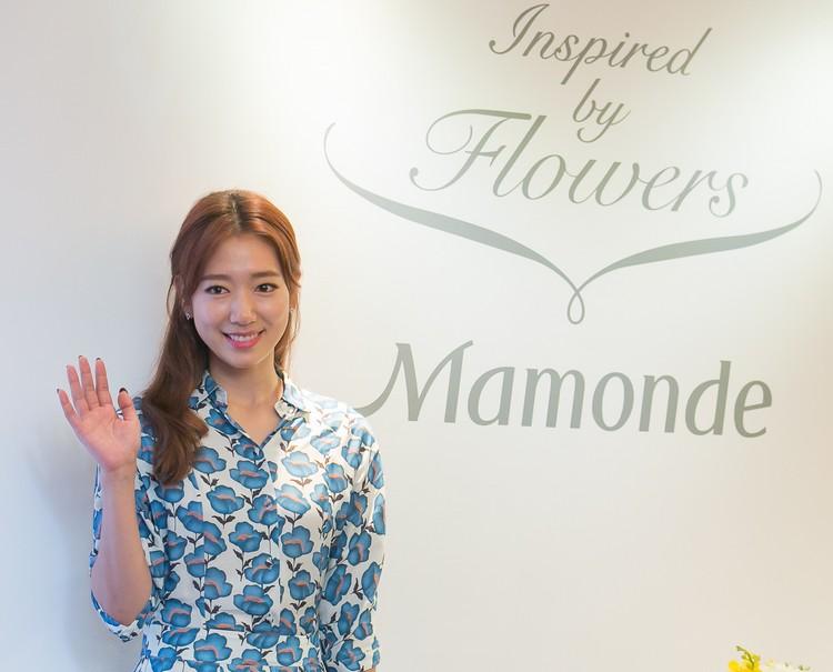 Park Shin Hye, Mamonde's Brand Ambassador