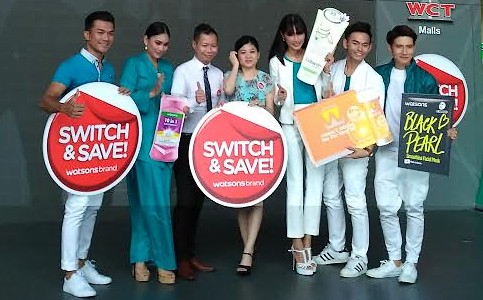 Watsons Switch and Save Celebrities