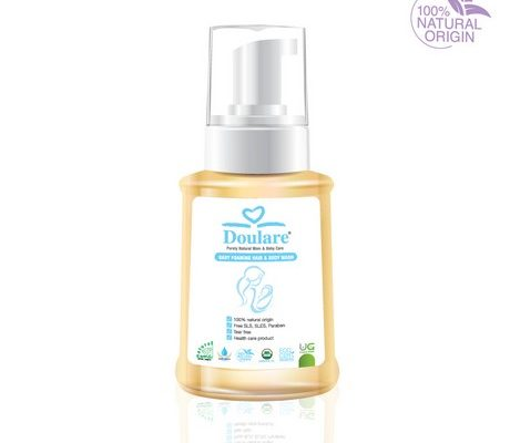 Doulare Baby Foaming Hair and Body Wash