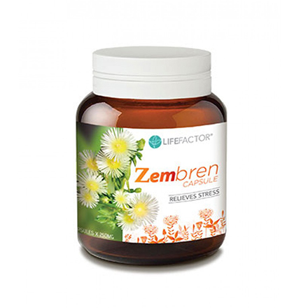 Combat Stress with LIFE FACTOR Zembrin