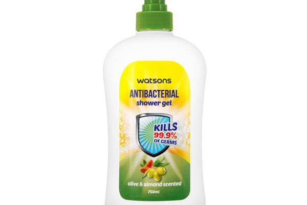 WATSONS Olive & Almond Antibacterial Shower Gel