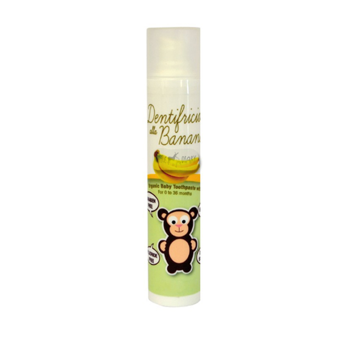 Baby Organix Dentifricio Organic Baby Toothpaste with Xylitol