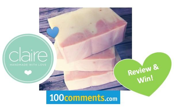Claire Organics Bar Soap