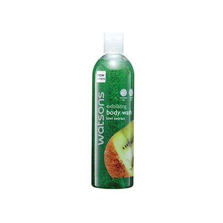 Watsons Exfoliating Body Wash Kiwi