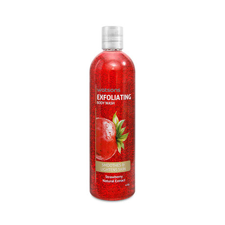 WATSONS Exfoliating Body Wash Strawberry