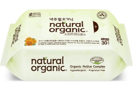 Natural Organic Baby Wipes