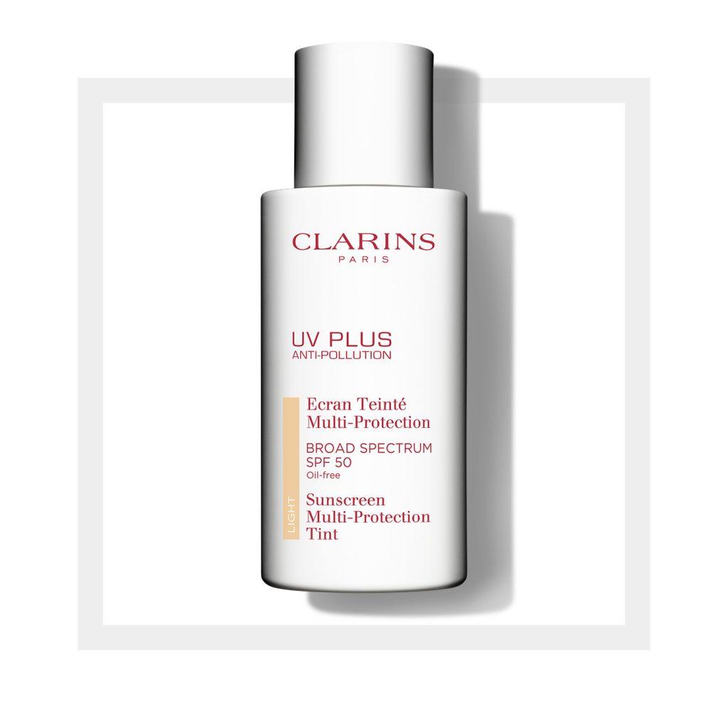 CLARINS UV PLUS Anti-Pollution Sunscreen Multi-Protection Tint SPF 50