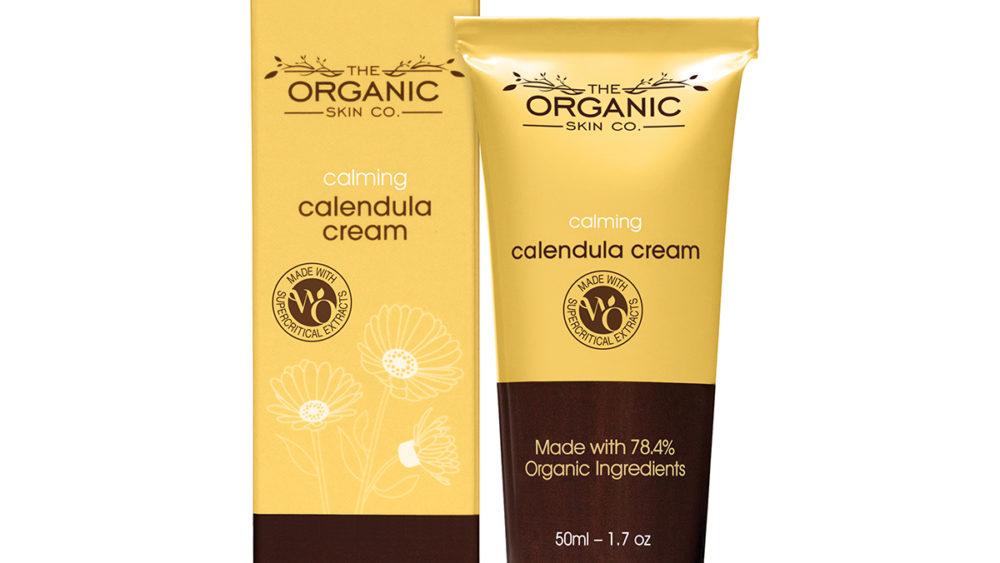 the organic skin co calming calendula cream