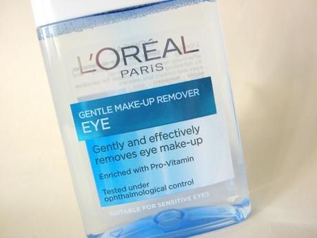 Lagi Bahagian Mata Dengan Eyelinernya Tapi L Oreal Dermo Expertise Gentle Lip Eye Makeup Remover