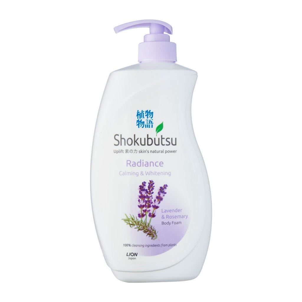 Shokubutsun Body Foam Calming & Whitening