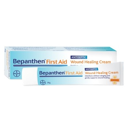 Bepanthen First Aid Antiseptic Wound Healing Cream