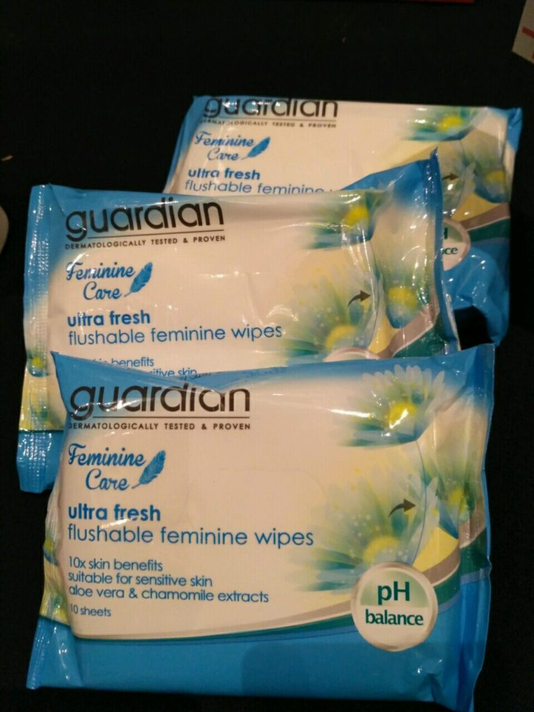 Guardian corporate brand products Wet wipes