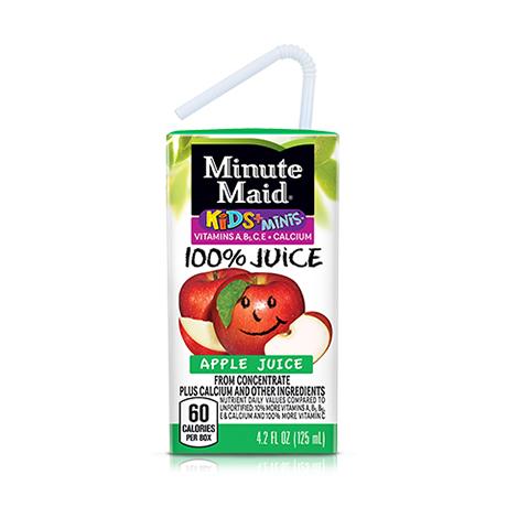 Minute Maid® Kids+® Minis™ Apple Juice