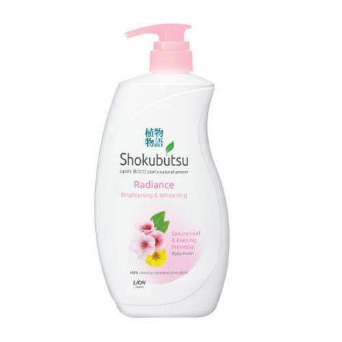 Shokubutsu Body Foam Brightening & Whitening