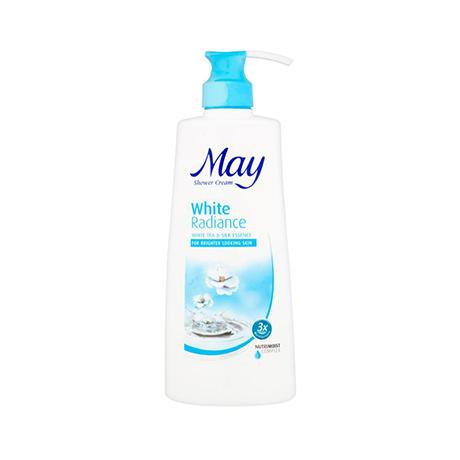 May White Radiance Shower Cream