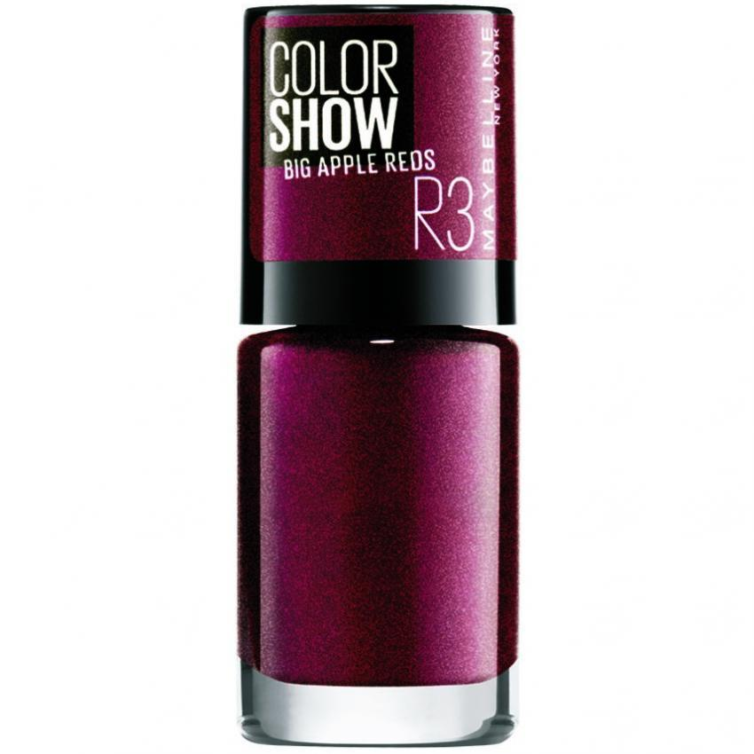 Maybelline Color Show Nail Big Apple Red Vixen reviews