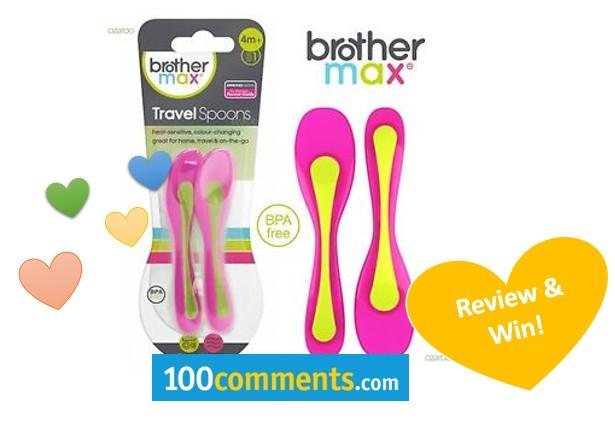 Brother Max Heat Sensitive Travel Spoons fb